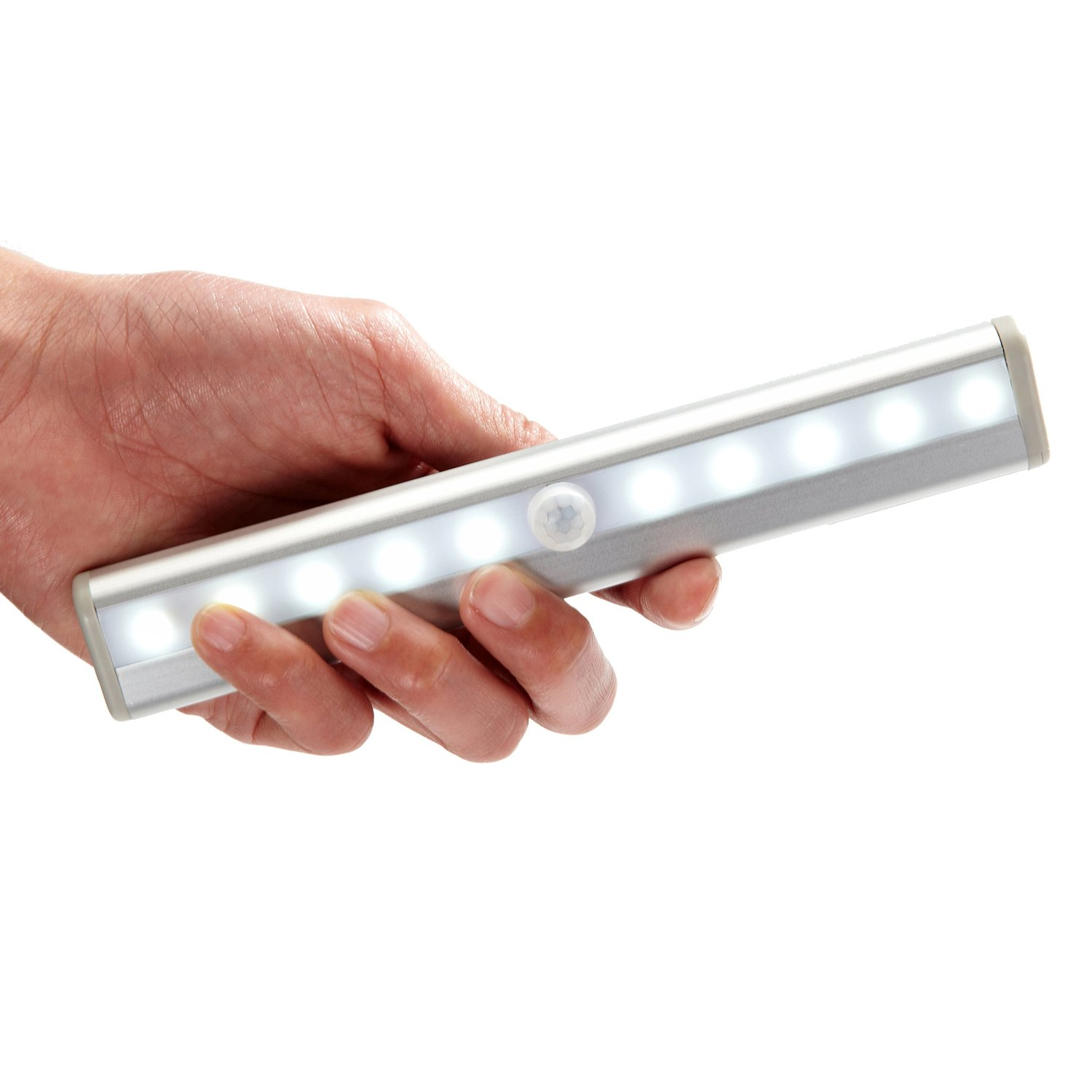 10 super bright white led wireless motion sensing light bar with