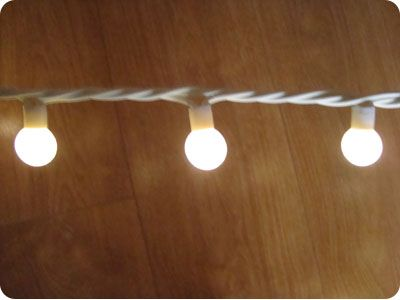 Warm white festoon party 50 led lights 5m white rubber cable click to enlarge click to enlarge mozeypictures